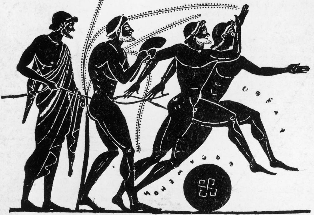 triathon histoire legende grec olympie