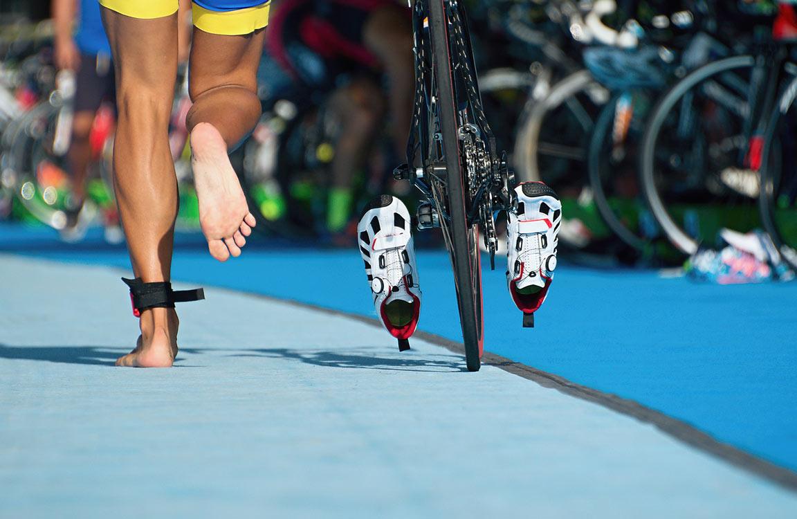 gérer transition triathlon